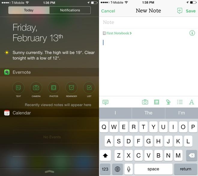 6 widget nen cai tren man hinh khoa iPhone hinh anh 4