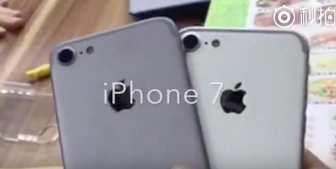 Video dau tien ve iPhone 7 hinh anh
