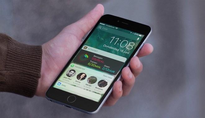 6 widget nen cai tren man hinh khoa iPhone hinh anh