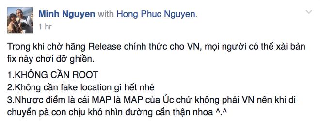 Da co ban Pokemon Go choi duoc ngay o Viet Nam hinh anh 2