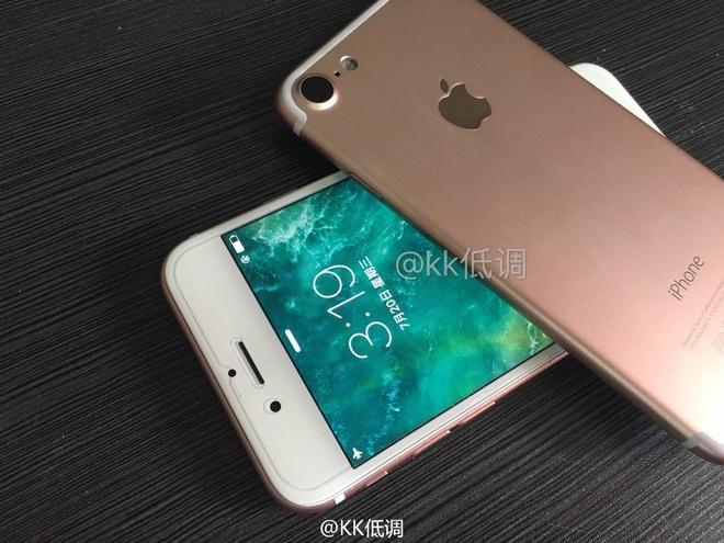 iPhone 7 lan dau lo anh man hinh sang hinh anh