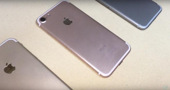 Video ban mau 3 mau cua iPhone 7 hinh anh