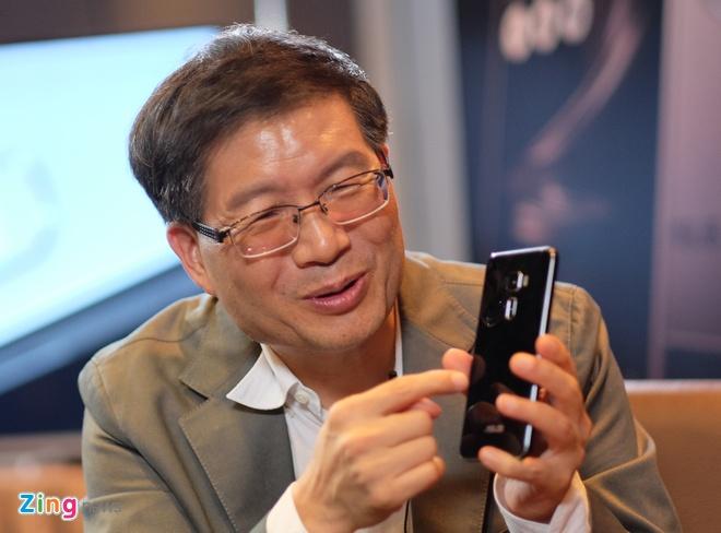 CEO Asus: Zenfone 3 se khoi phuc lai da tu Zenfone 2 hinh anh