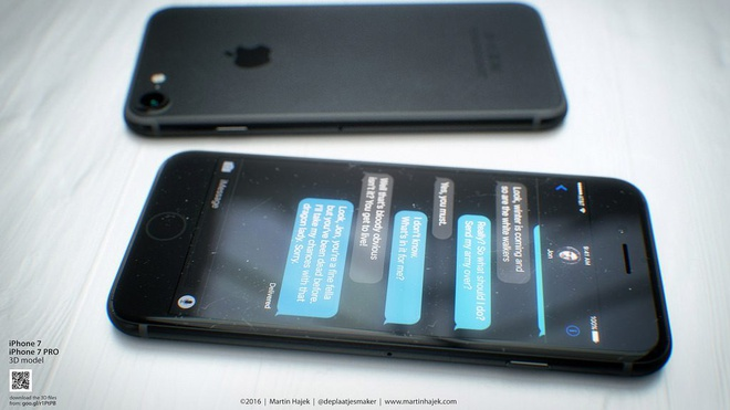 iPhone 7 co them mau den tuyen, force touch tren phim Home hinh anh