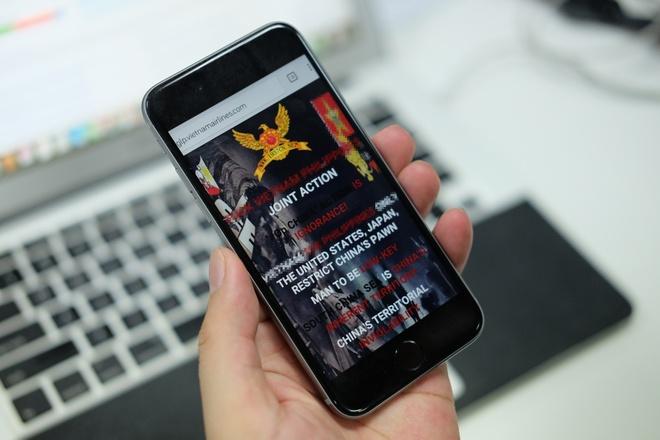 Lo hong trang web Vietnam Airlines da duoc canh bao tu lau hinh anh