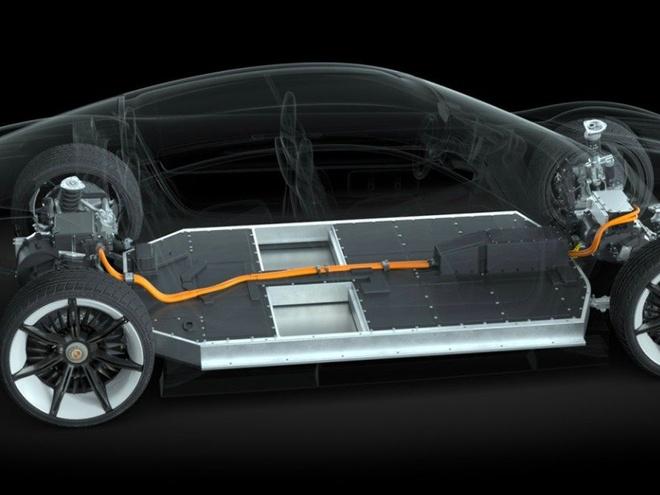 Porsche san xuat xe dien canh tranh Tesla hinh anh 2