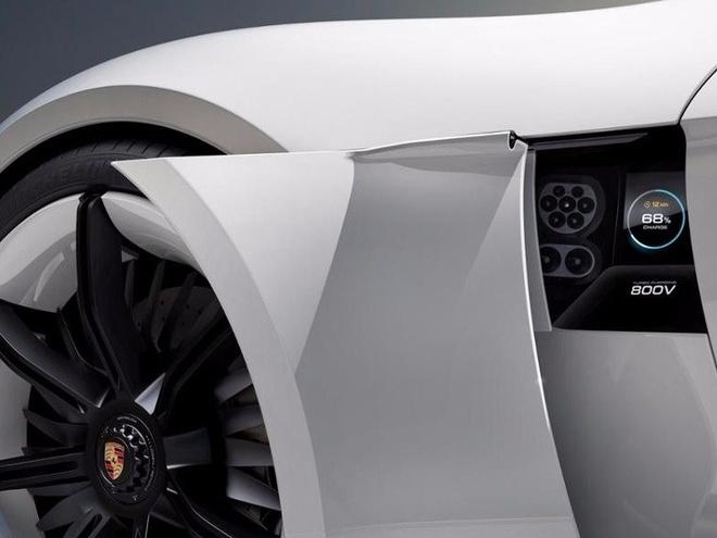 Porsche san xuat xe dien canh tranh Tesla hinh anh 4