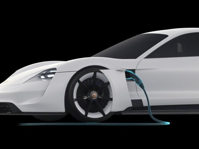Porsche san xuat xe dien canh tranh Tesla hinh anh 5
