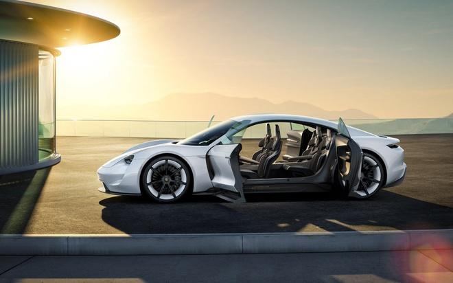 Porsche san xuat xe dien canh tranh Tesla hinh anh 7