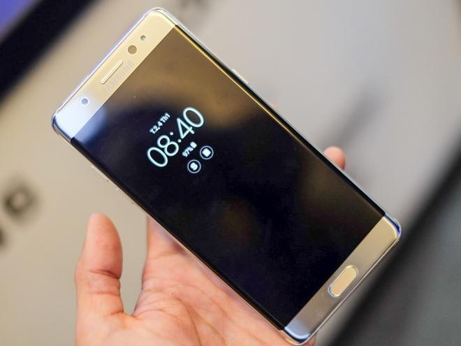 Anh Samsung Galaxy Note 7 sap ban o Viet Nam hinh anh 1
