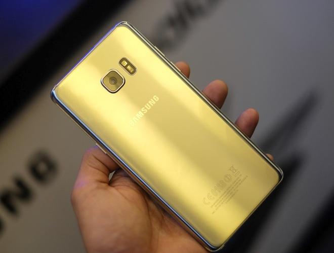 Anh Samsung Galaxy Note 7 sap ban o Viet Nam hinh anh 2