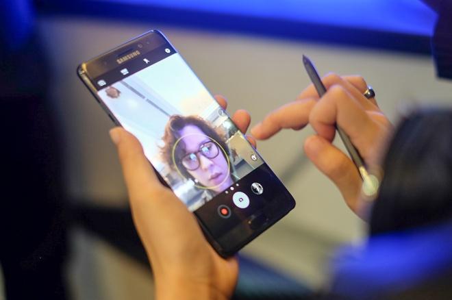 Anh Samsung Galaxy Note 7 sap ban o Viet Nam hinh anh 11