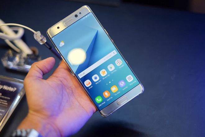 Anh Samsung Galaxy Note 7 sap ban o Viet Nam hinh anh