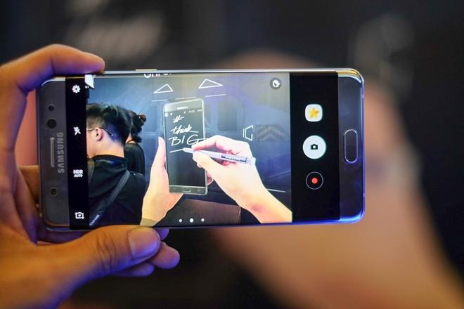 Anh Samsung Galaxy Note 7 sap ban o Viet Nam hinh anh 12