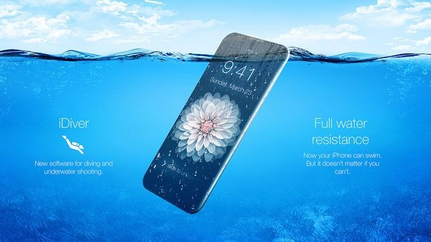 iPhone moi co the chup anh dep duoi nuoc hinh anh