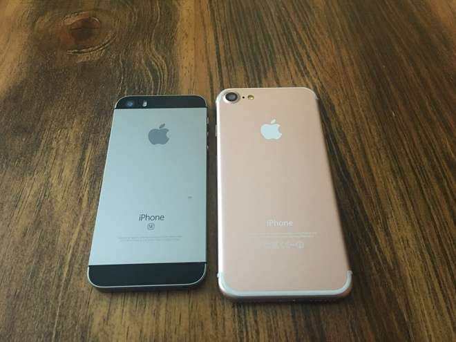 Mo hinh iPhone 7 do dang iPhone SE, 6S va 6S Plus hinh anh 1