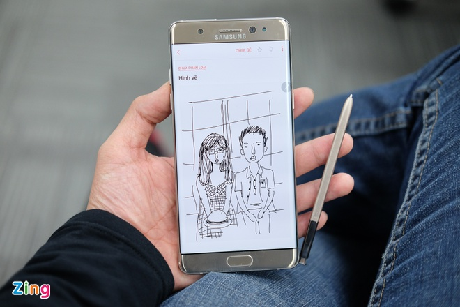 Danh gia Samsung Galaxy Note 7 hinh anh 2