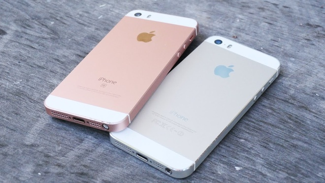 iPhone SE va iPhone 5S - mot dang ve hai so phan hinh anh