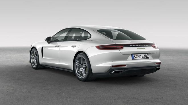 Loat anh Porsche Panamera 4 E-Hybrid vua ra mat hinh anh 2