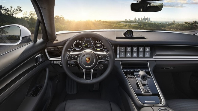 Loat anh Porsche Panamera 4 E-Hybrid vua ra mat hinh anh 6