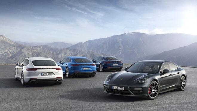 Loat anh Porsche Panamera 4 E-Hybrid vua ra mat hinh anh