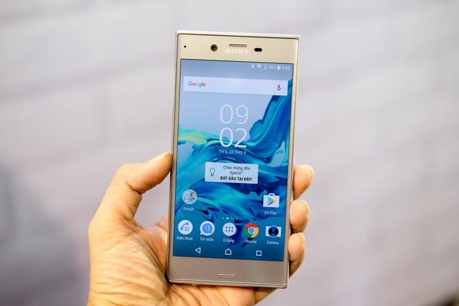 Anh Sony Xperia XZ gia 14,9 trieu dong tai Viet Nam hinh anh