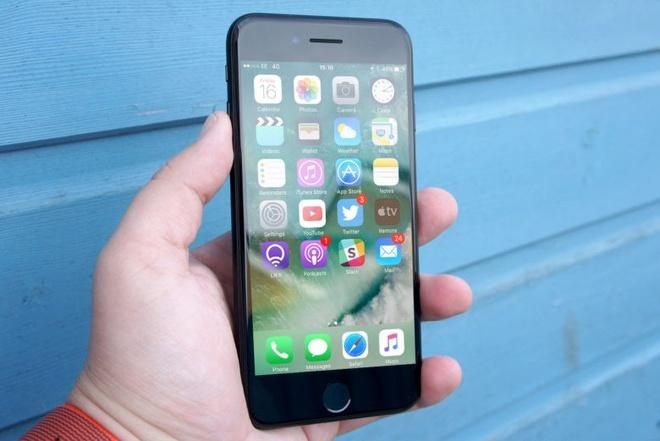 Am thanh cuoc goi cua iPhone 7 bi che do hinh anh