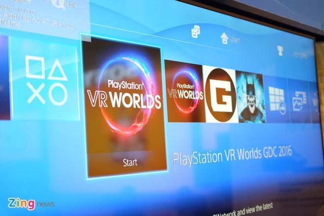 Kinh thuc te ao Sony Play Station VR xuat hien tai Viet Nam hinh anh 3