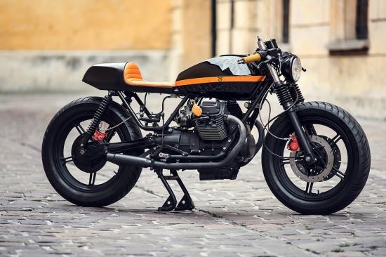 Moto Guzzi V6 do 'ma thuat' cua xuong Ventus Garage hinh anh