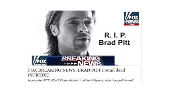 Hacker tung tin Brad Pitt qua doi de truc loi hinh anh 1