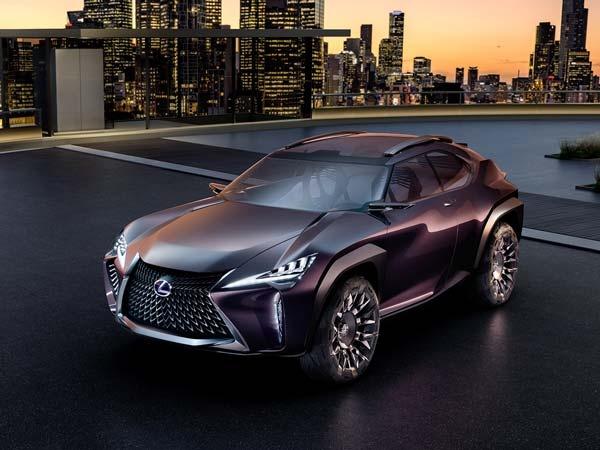 Chi tiet concept Lexus UX ham ho tai Paris Motor Show hinh anh 1