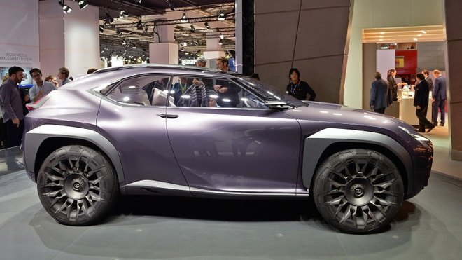 Chi tiet concept Lexus UX ham ho tai Paris Motor Show hinh anh 2