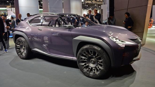Chi tiet concept Lexus UX ham ho tai Paris Motor Show hinh anh 4