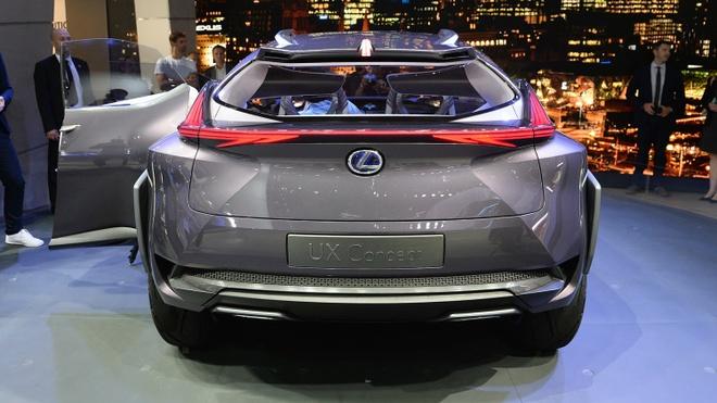Chi tiet concept Lexus UX ham ho tai Paris Motor Show hinh anh 8