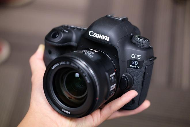 Canon 5D Mark IV gia 89 trieu o Viet Nam hinh anh