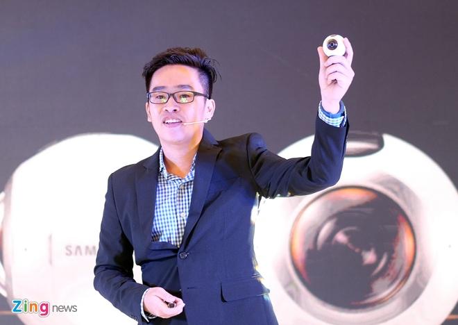 Camera Samsung Gear 360 len ke tai VN voi gia 6,9 trieu dong hinh anh 1