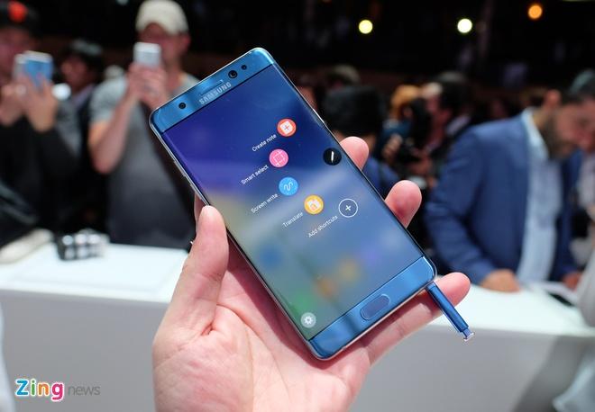 ngung san xuat Galaxy Note 7 anh 1