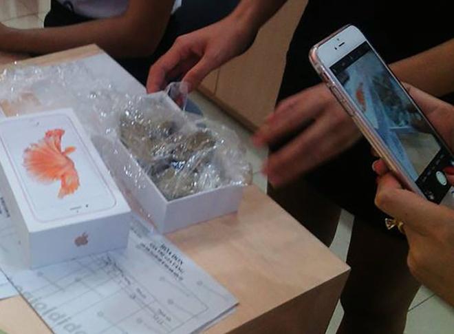 Hop iPhone 6S chinh hang chua toan soi da o Yen Bai hinh anh