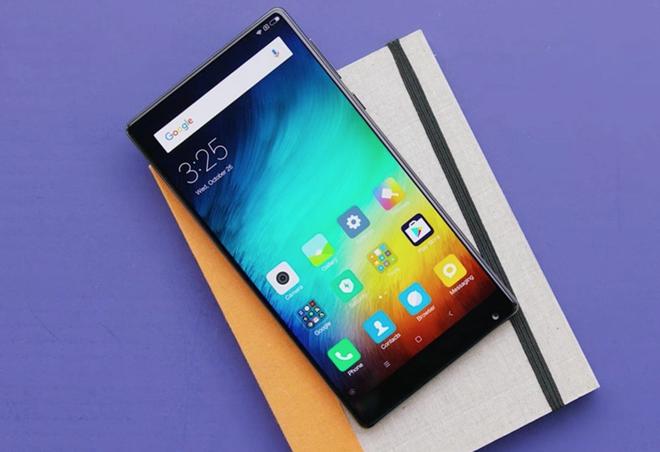 Xiaomi Mi Mix - thiet ke iPhone 8 nen hoc hinh anh