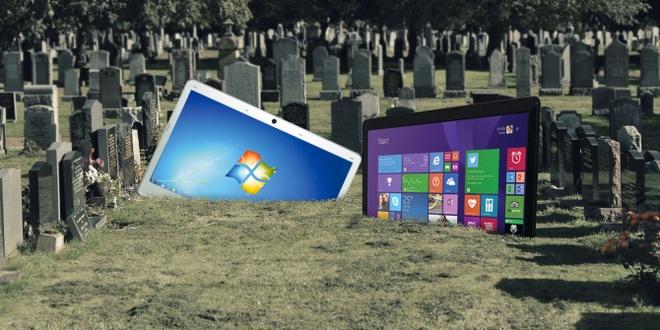 Microsoft bat dau khai tu Windows 7 va Windows 8 hinh anh 1
