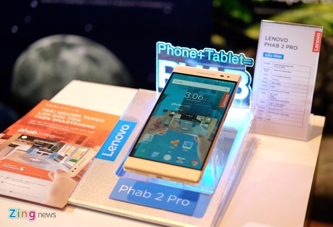 Lenovo Phab2 Pro va Yoga Book sieu mong ra mat o Viet Nam hinh anh 5