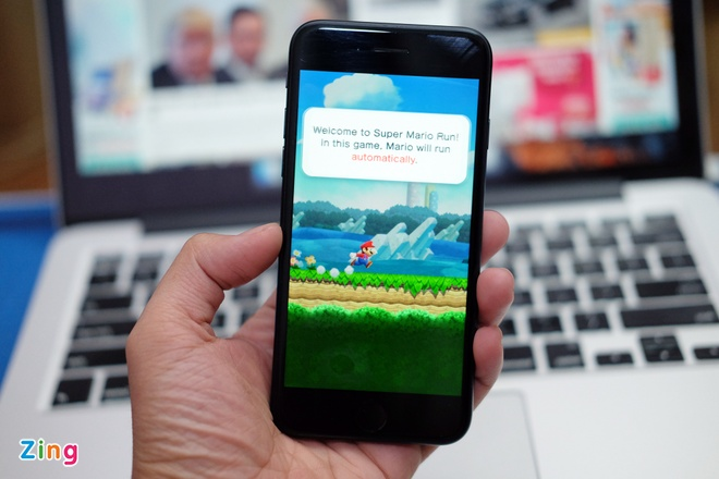 Tro choi Super Mario Run bat dau cho tai tren iPhone va iPad hinh anh 1