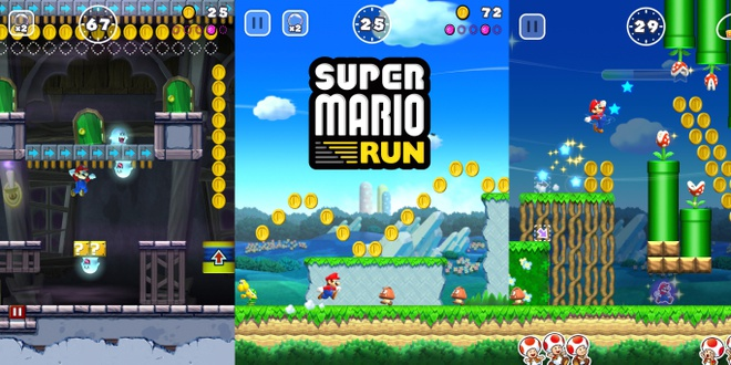 Tro choi Super Mario Run bat dau cho tai tren iPhone va iPad hinh anh 2