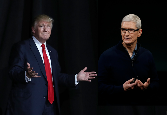 Apple se thuan theo y muon cua Donald Trump? hinh anh