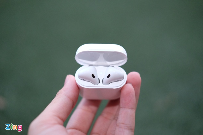 Anh tai nghe AirPods vua ve Viet Nam hinh anh 4