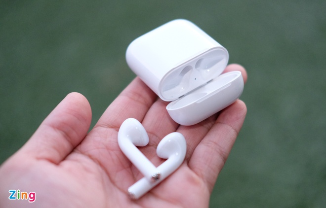 Anh tai nghe AirPods vua ve Viet Nam hinh anh 7