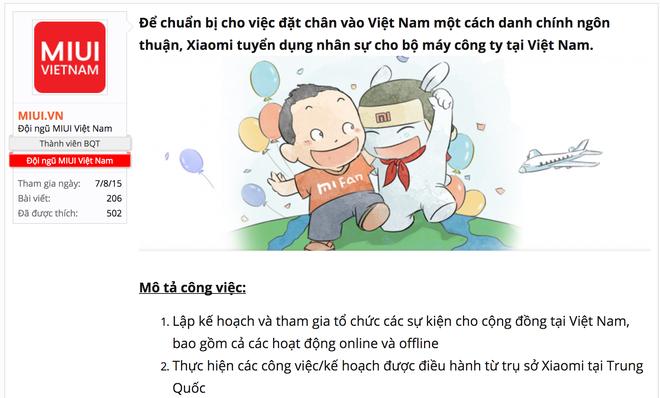 Xiaomi tuyen dung anh 1