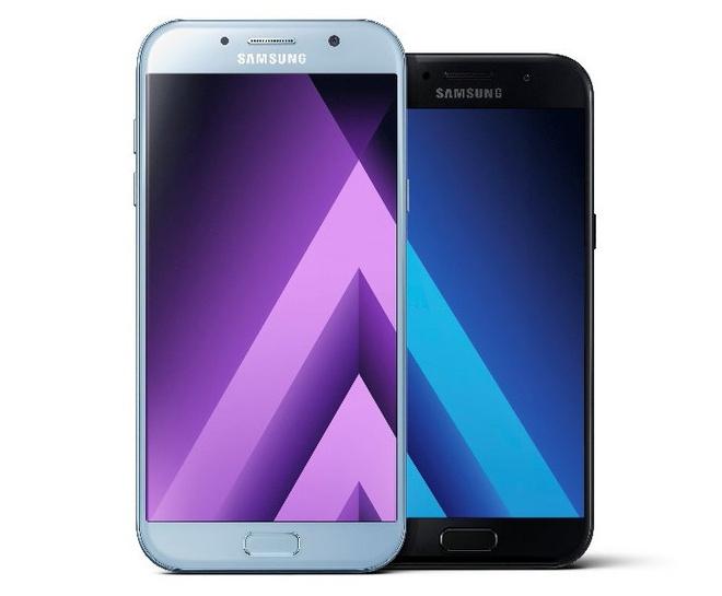 Samsung Galaxy A3 A5 A7 2017 ra mat anh 1