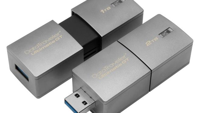 Kingston ra mat USB dau tien co dung luong 2 TB hinh anh 1