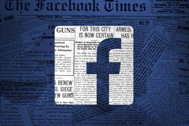 Facebook, Google dang mac no bao chi hinh anh